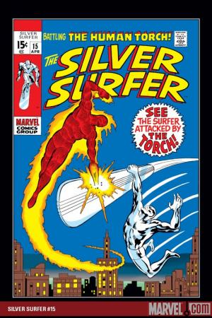 Silver Surfer (1968) #15