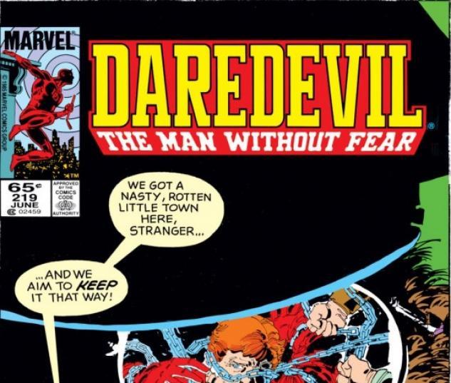 Daredevil (1964) #219