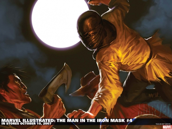 Marvel Illustrated: The Man in the Iron Mask (2007) #4 Wallpaper