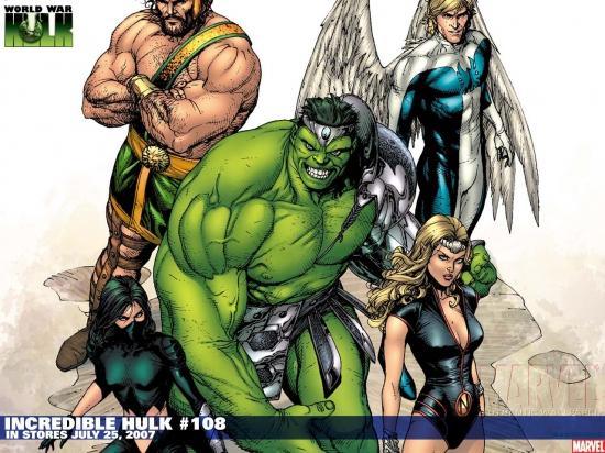 Incredible Hulk (1962) #108 Wallpaper