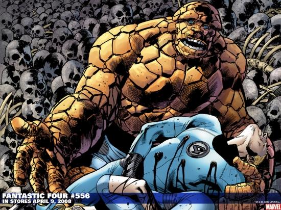 Fantastic Four (1998) #556 Wallpaper