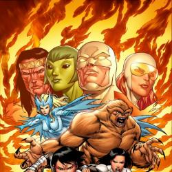 CHAOS WAR: ALPHA FLIGHT #1 cover by Salva Espin