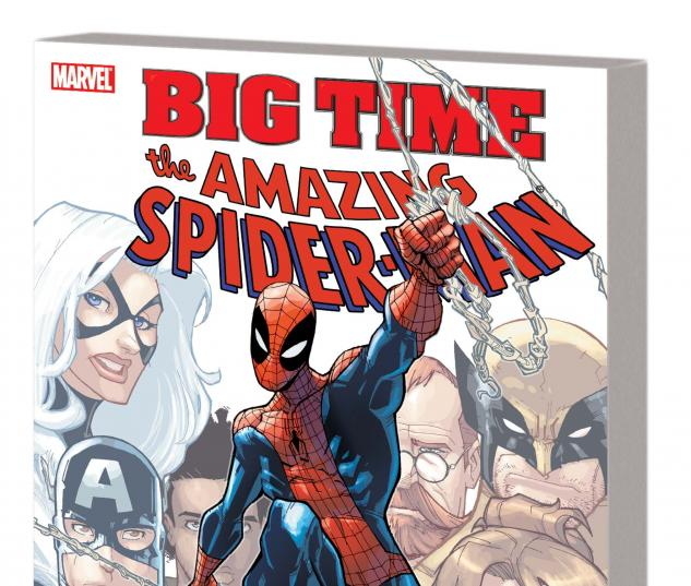 SPIDER-MAN: BIG TIME TPB cover