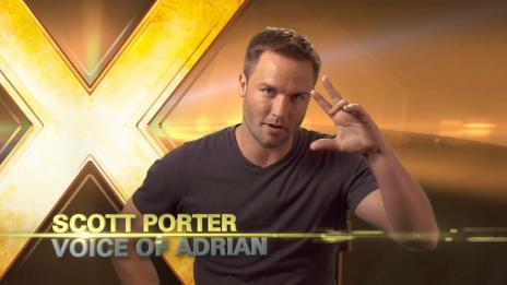 X-Men Destiny Behind The Scenes: Scott Porter