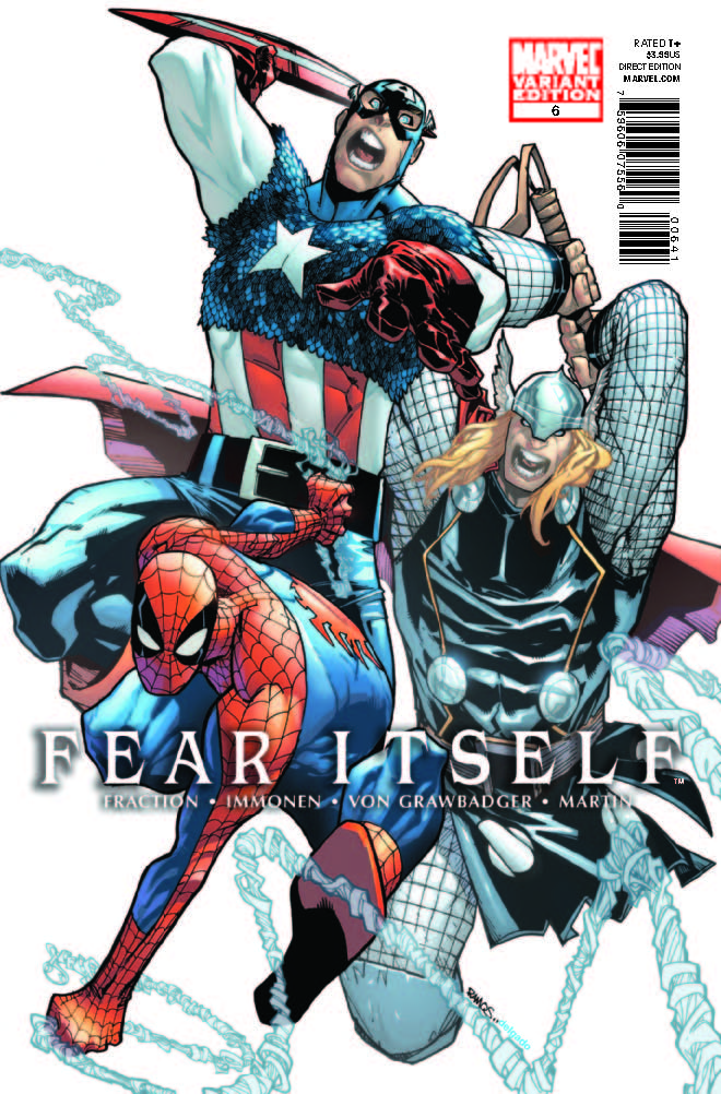 Fear Itself (2010) #6 (Architect Variant)
