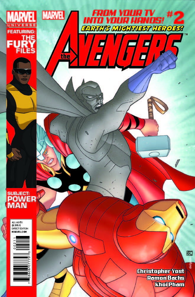 Marvel Universe Avengers: Earth's Mightiest Heroes (2012) #2