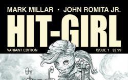 HIT-GIRL 1 JRJR SKETCH VARIANT