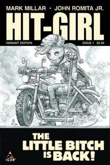 Hit-Girl (2012) #1 (Sketch Variant)