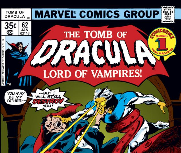 Tomb of Dracula (1972) #62 Cover