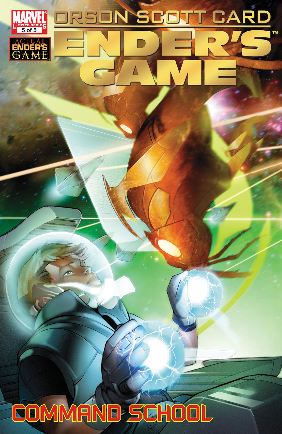 Enders Game: Command School (2009) #5