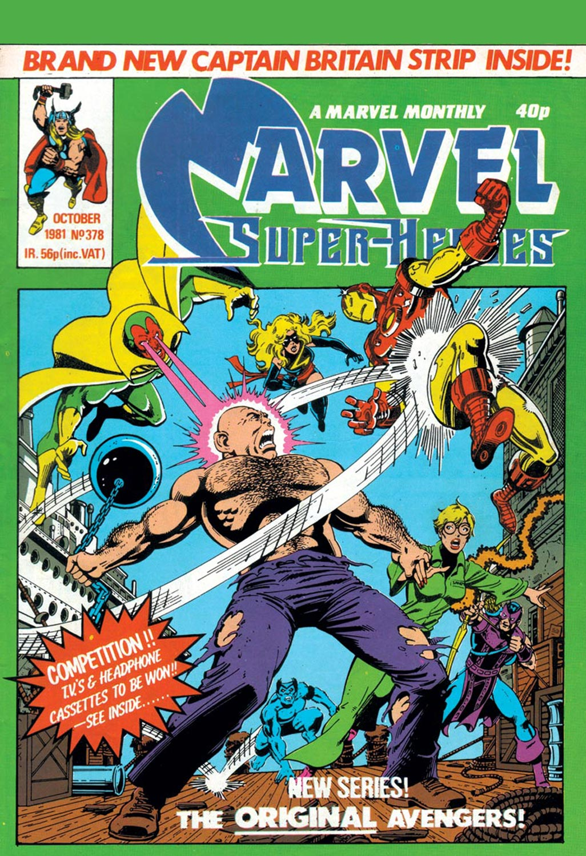Marvel Super-Heroes (1967) #378