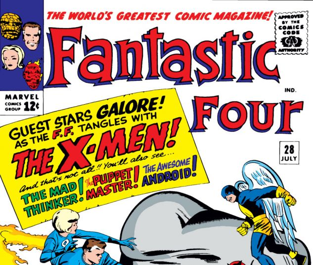 Fantastic Four (1961) #28 Cover