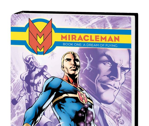 MIRACLEMAN BOOK 1: A DREAM OF FLYING PREMIERE HC DAVIS COVER (SDOS)