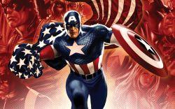 Patriotic Captain America Covers