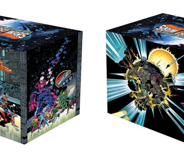 MARVEL SUPER HEROES SECRET WARS: BATTLEWORLD BOX SET SLIPCASE