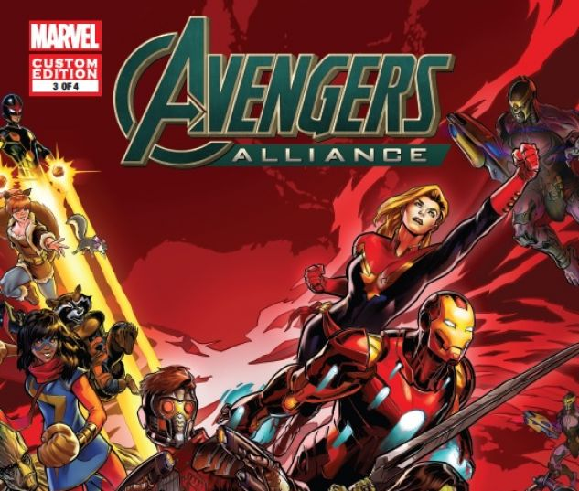 cover to MARVEL AVENGERS ALLIANCE (2016) #3
