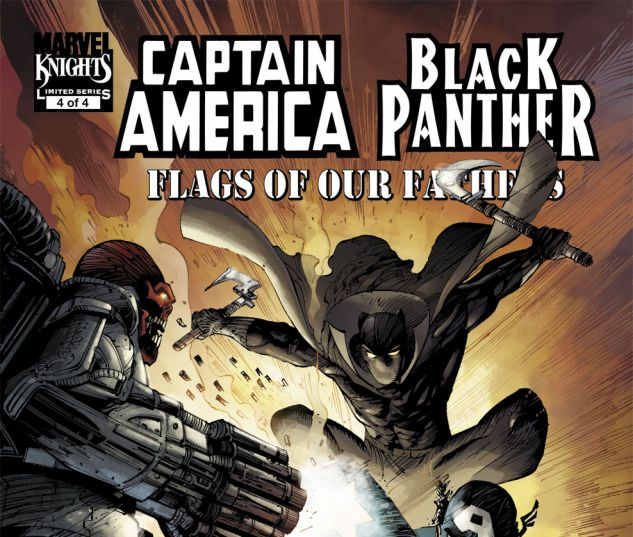CAPTAIN AMERICA/BLACK PANTHER: FLAGS OF OUR FATHERS (2010) #4 Cover