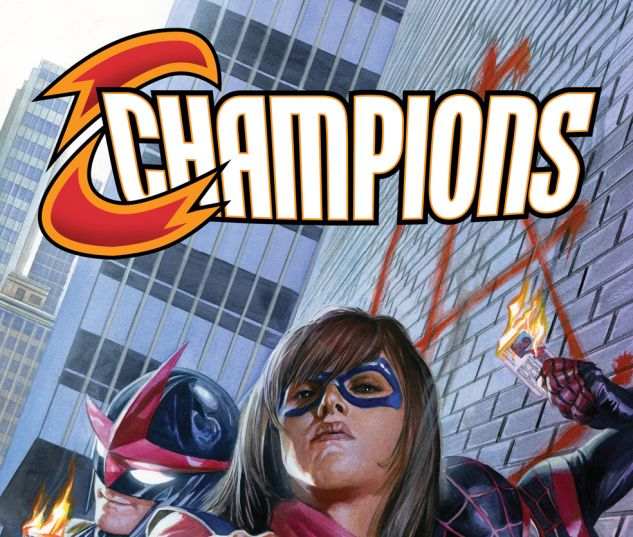 Champions (2016) #1 variant cover by Alex Ross