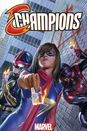Champions (2016) #1 (Ross Variant)