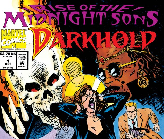 cover to Darkhold: Pages from The Book of Sins (1992) #1