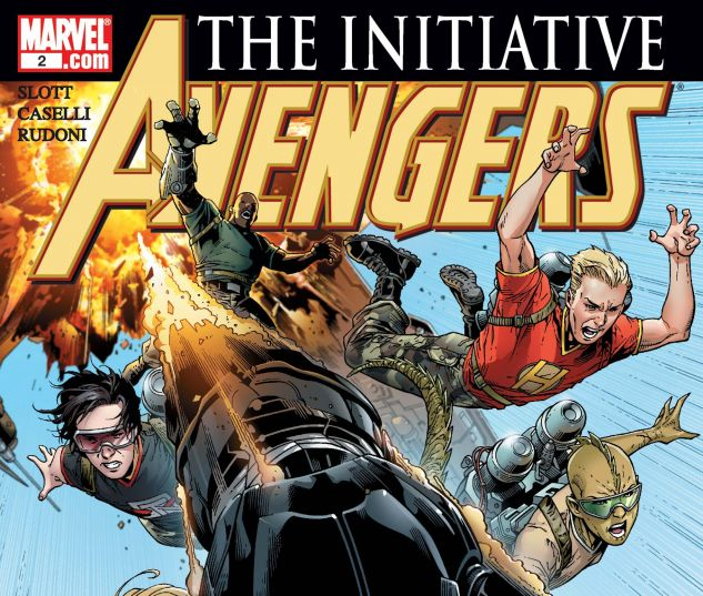AVENGERS: THE INITIATIVE (2007) #2