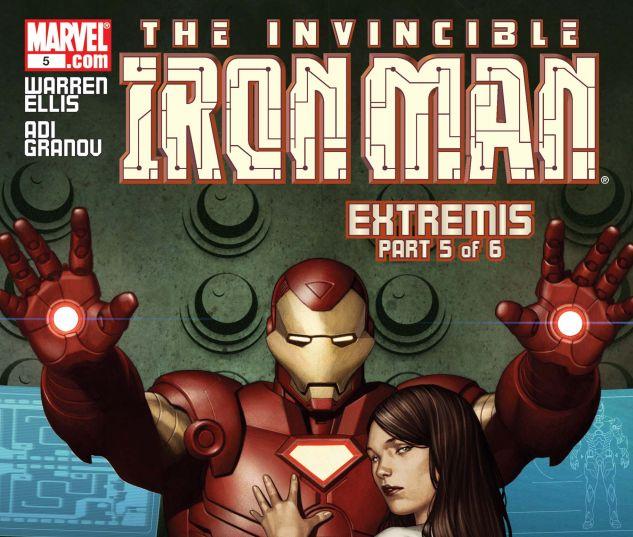 Iron Man (2004) #5