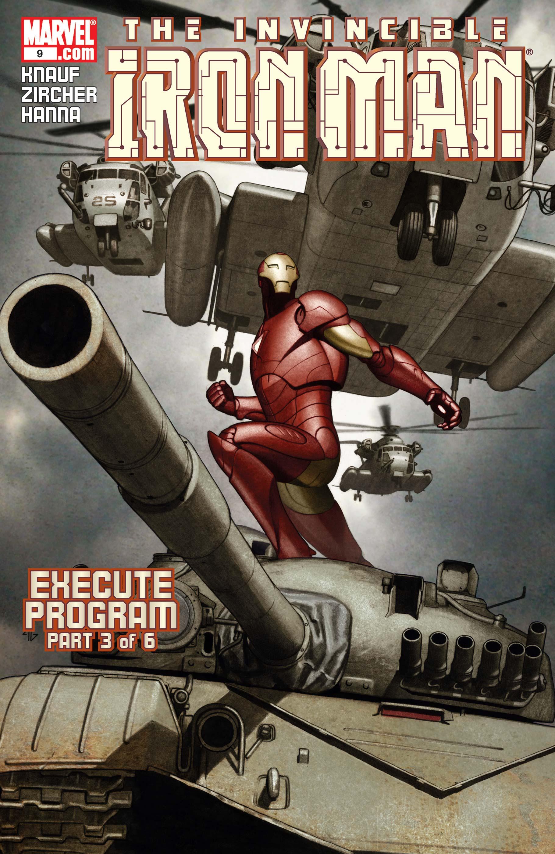The Invincible Iron Man (2004) #9