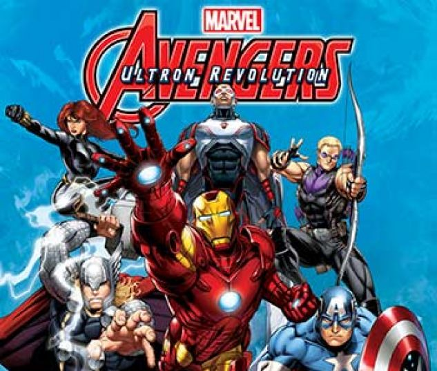 cover from Marvel Universe Avengers: Ultron Revolution (Digital Comic) (2017) #17