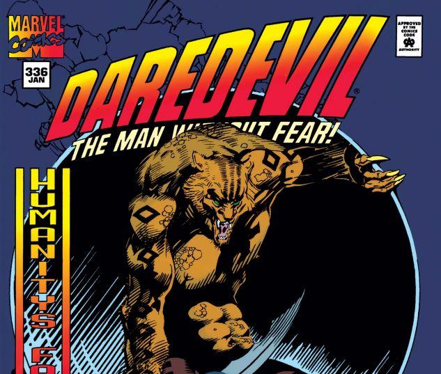 cover from Daredevil (1964) #336