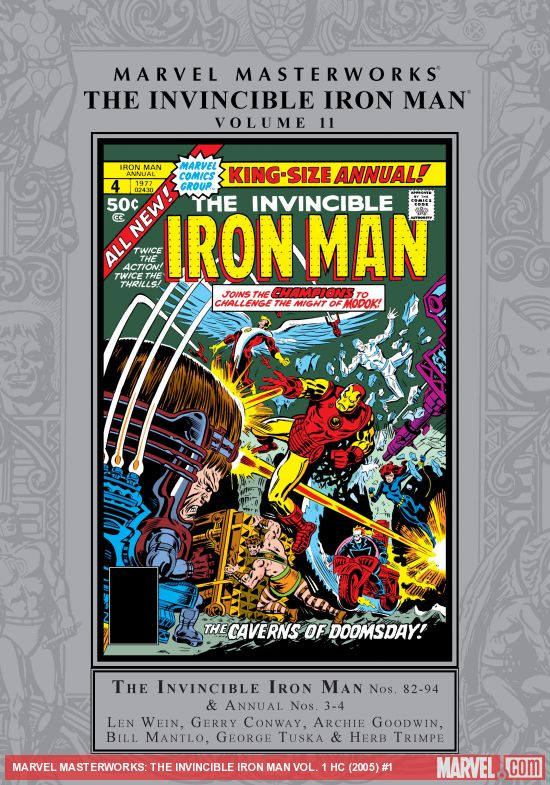 MARVEL MASTERWORKS: THE INVINCIBLE IRON MAN VOL. 1 HC (Hardcover)