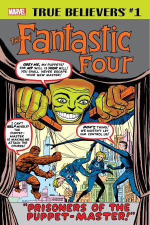 True Believers: Fantastic Four - Puppet Master (2018) #1