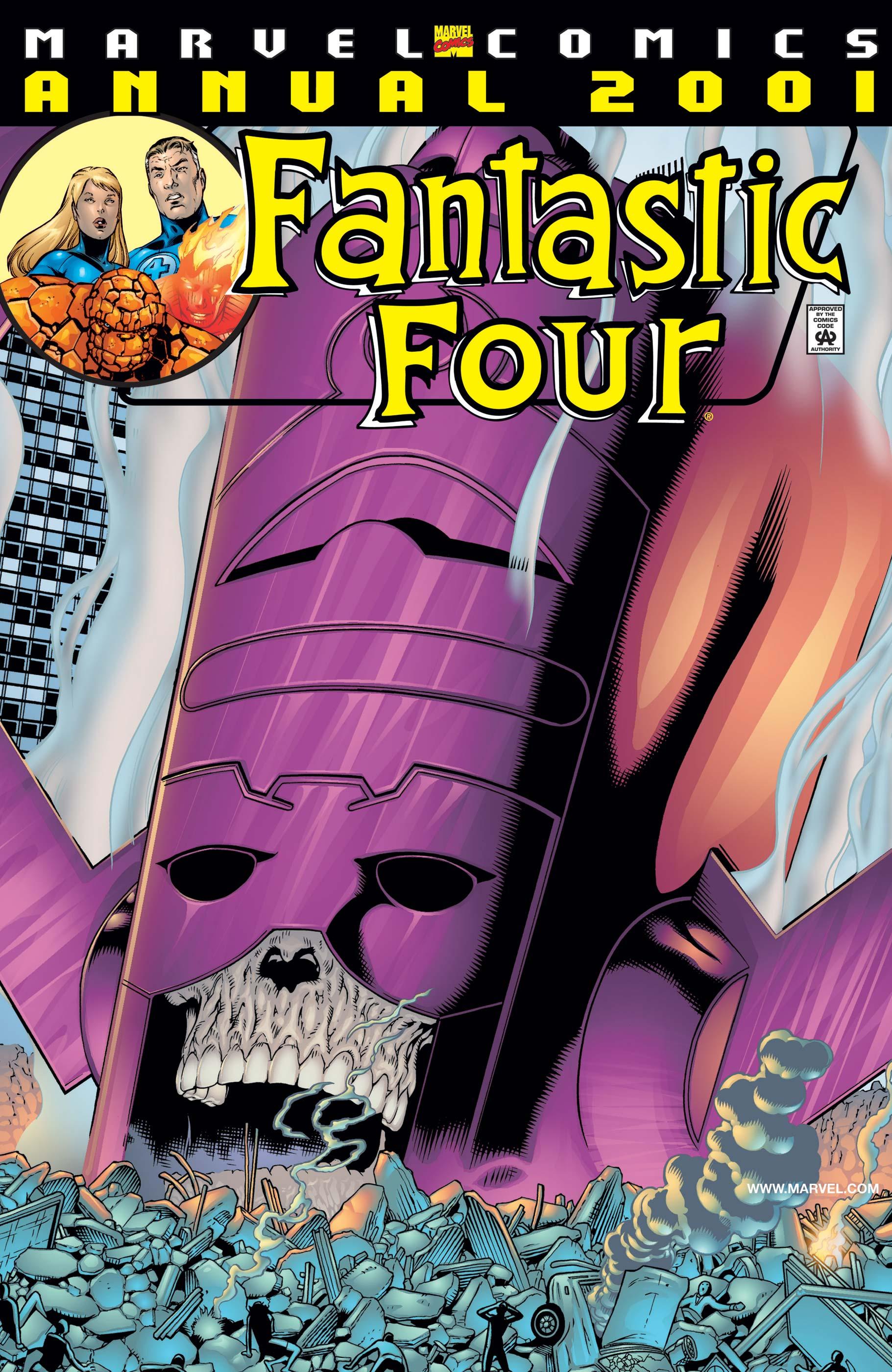Fantastic Four Annual (2001) #1