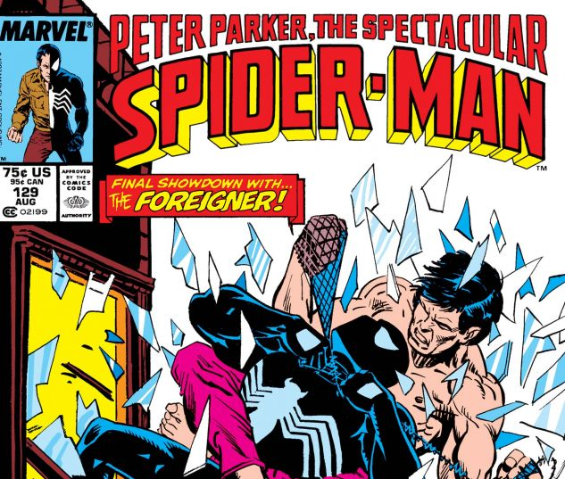 PETER PARKER, THE SPECTACULAR SPIDER-MAN (1976) #129