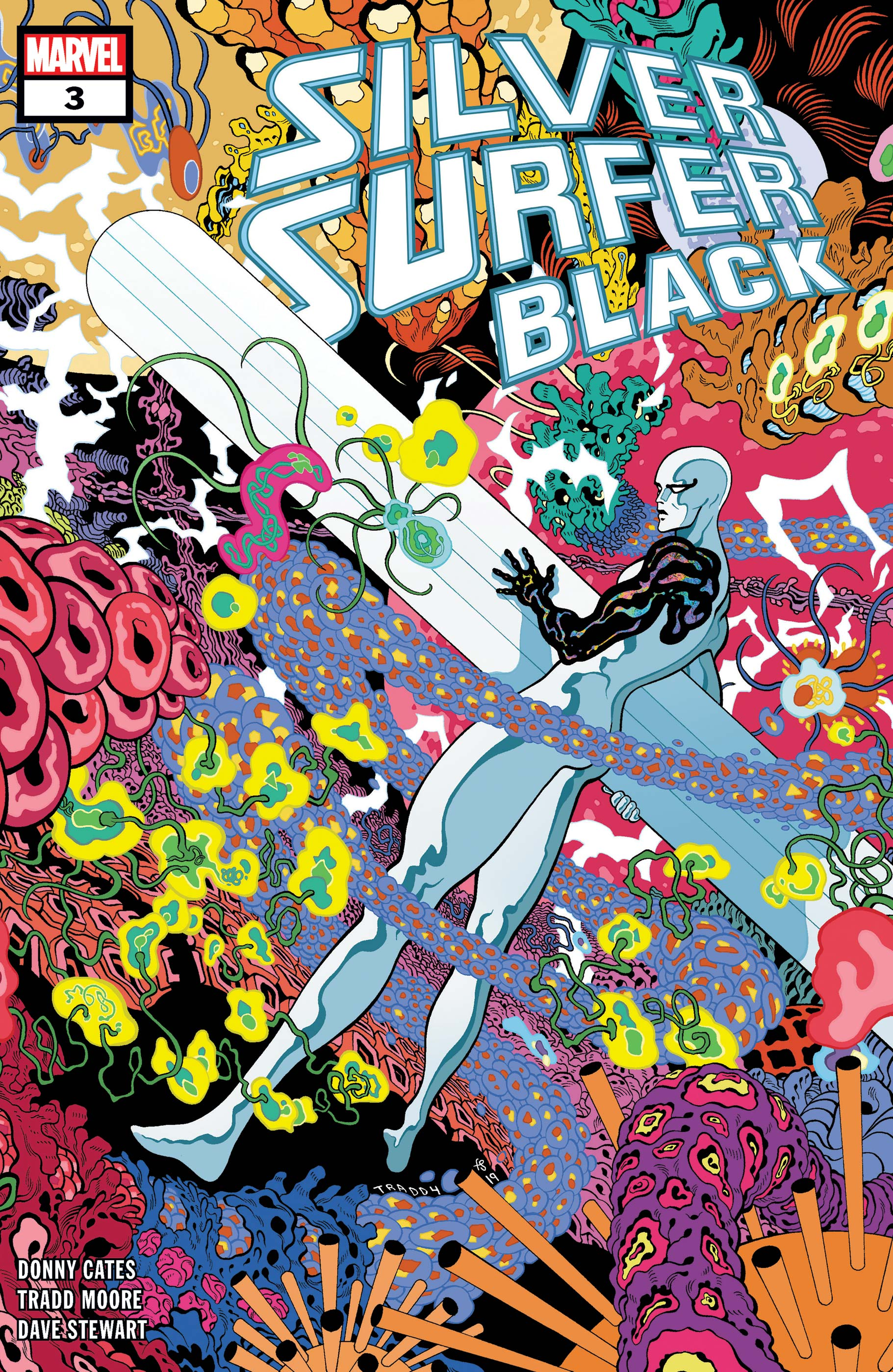 Silver Surfer: Black (2019) #3