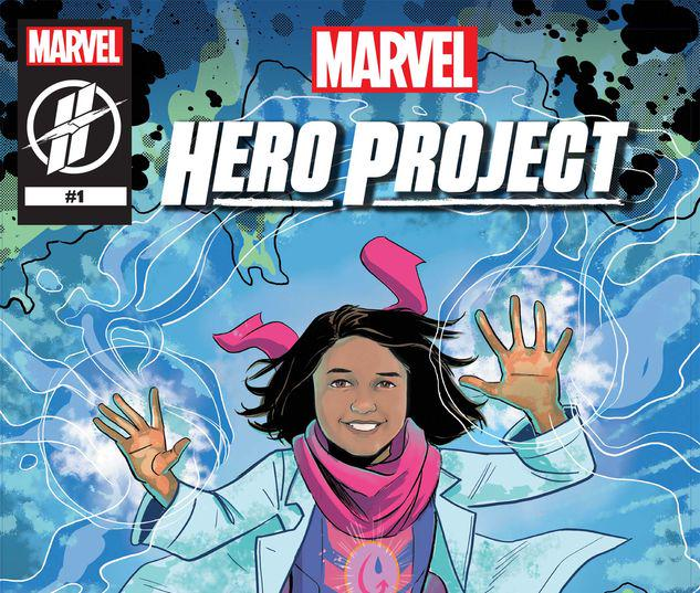 MARVEL'S HERO PROJECT SEASON 1: GENIUS GITANJALI #1