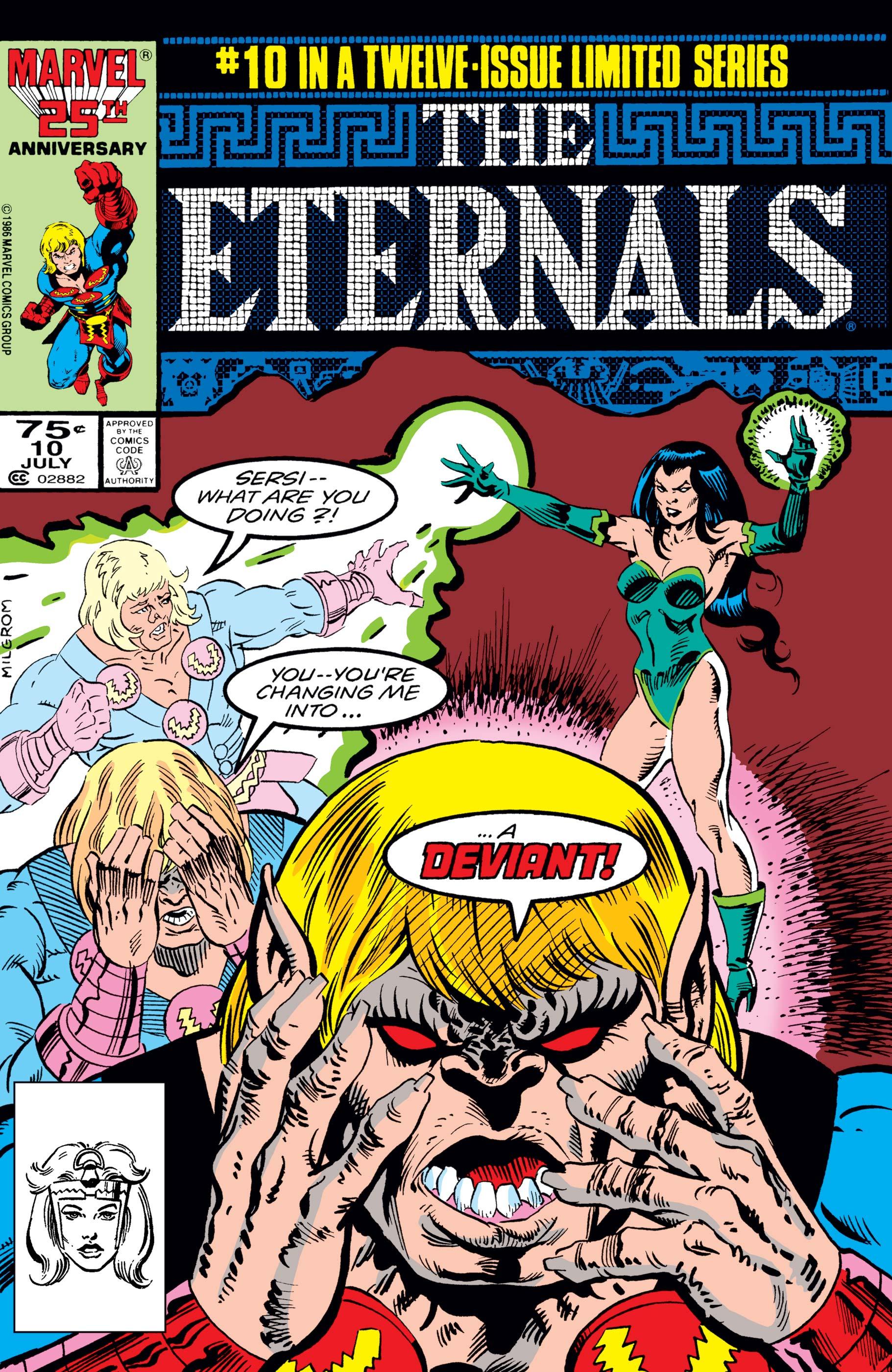 The Eternals (1985) #10