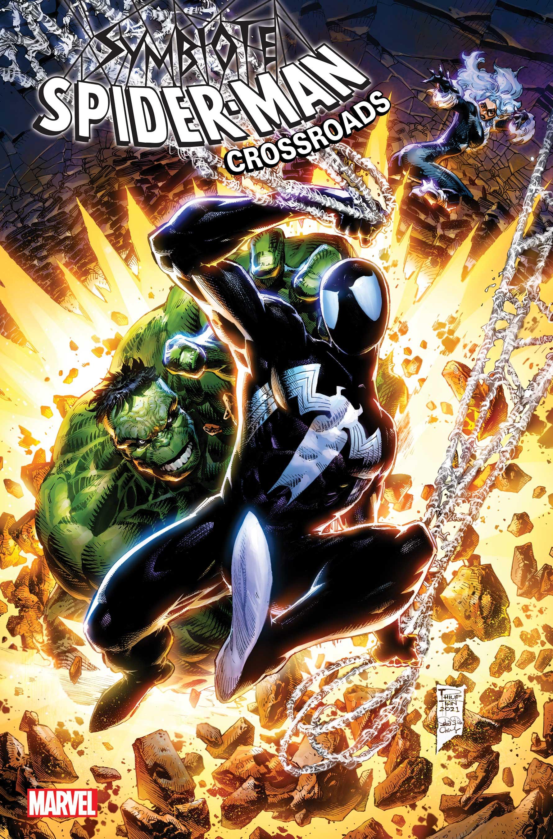 Symbiote Spider-Man: Crossroads (2021) #5 (Variant)