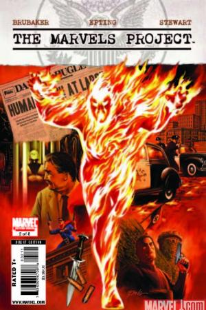 The Marvels Project (2009) #2 (EPTING COVER)