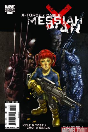 X-Force/Cable: Messiah War Prologue (2009) #1 (CHOI (50/50 COVER))