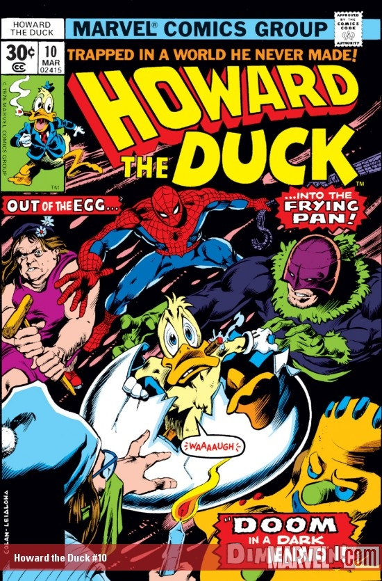 Howard the Duck (1976) #10