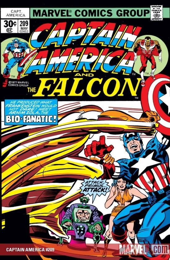 Captain America (1968) #209