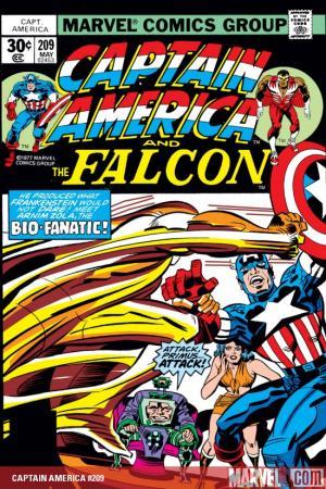 Captain America #209