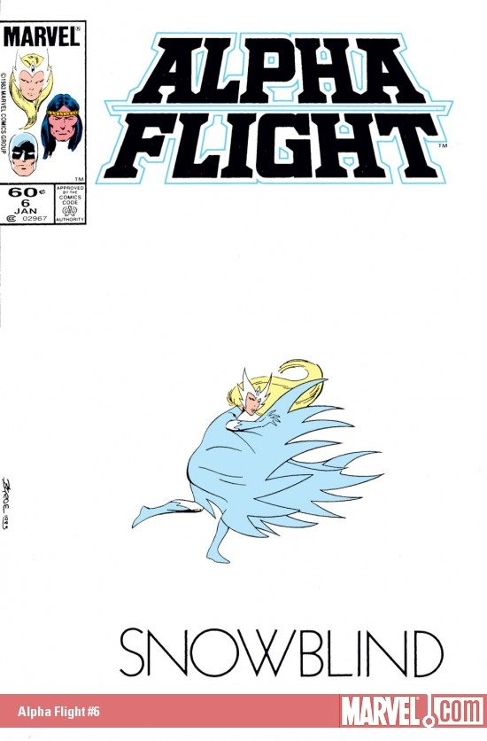 Alpha Flight (1983) #6