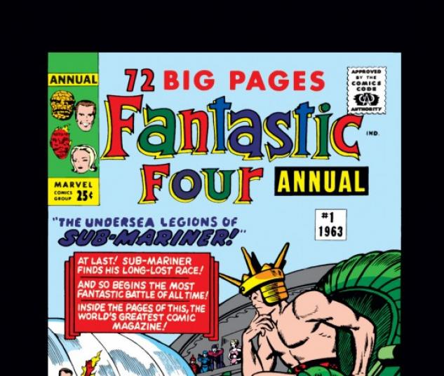 FANTASTIC FOUR ANNUAL #1 COVER