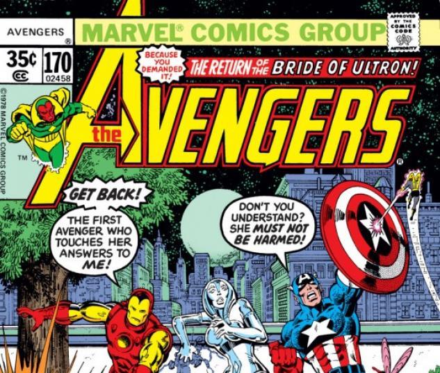 AVENGERS #170 COVER