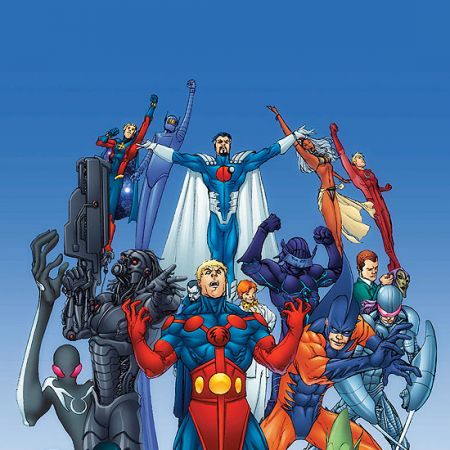 ALL-NEW OFFICIAL HANDBOOK OF THE MARVEL UNIVERSE A TO Z: UPDATE (2008) #1 COVER