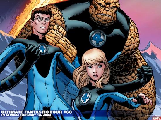 Ultimate Fantastic Four (2003) #60 Wallpaper
