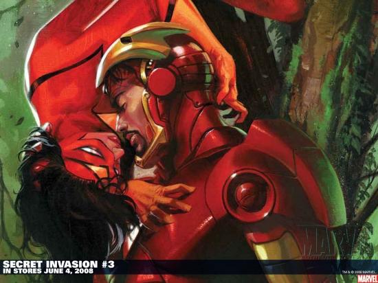 Secret Invasion (2008) #3 (SKETCH VARIANT) Wallpaper