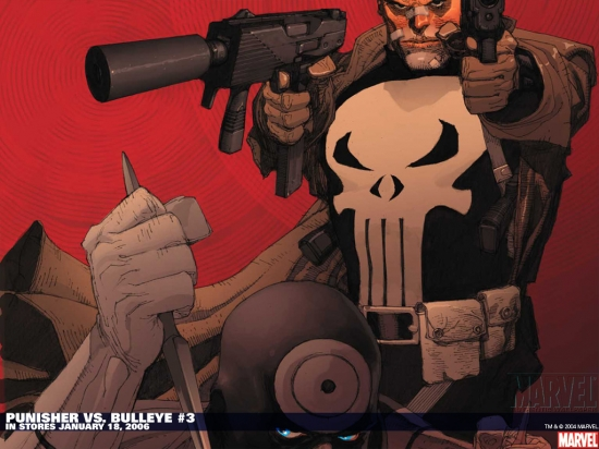 Punisher Vs. Bullseye (2005) #3 Wallpaper