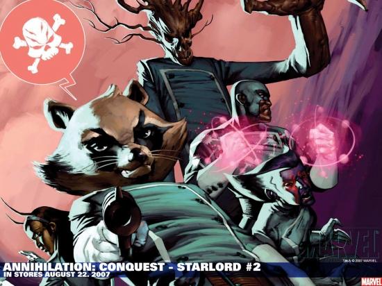 Annihilation: Conquest - Starlord (2007) #2 Wallpaper